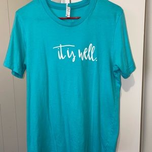 """Bella Canvas """"It is well"""" T-shirt"""